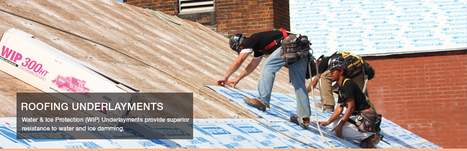 Carlisle Water Ice Protection Wip Self Adhering Roofing Underlayments Are Designed To Provide Premium Waterproofing For A Variety Of